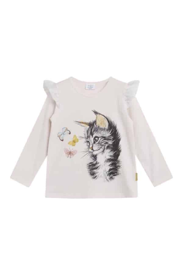 Hust and Claire T-shirt kitty
