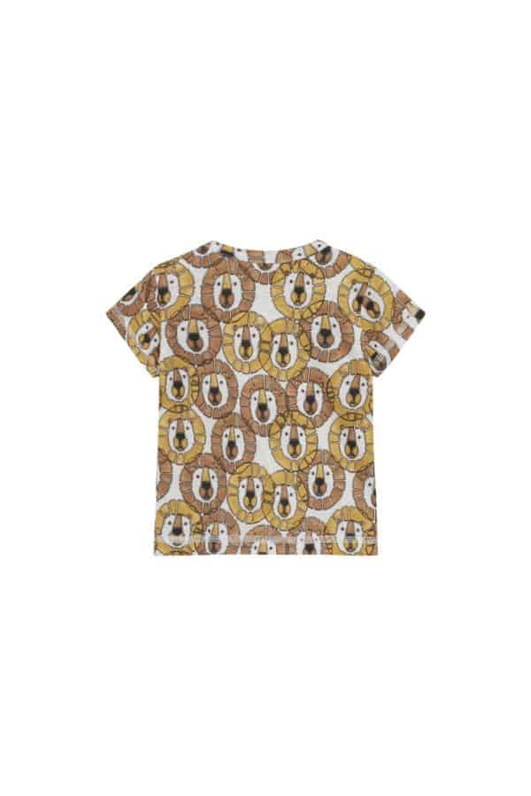 Hust and Claire T-shirt Leeuw