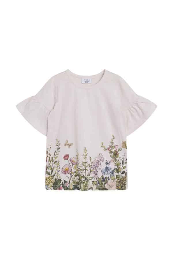 T-shirt Alandra met bloemen Hust and Claire