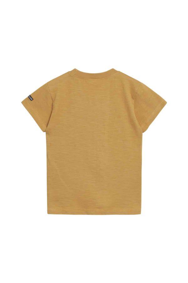 zon geel T-shirt met insecten Hust and Claire