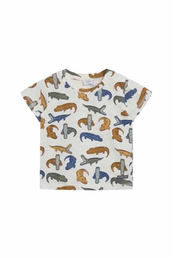T-shirt met krokodillen Arthur van Hust and Claire