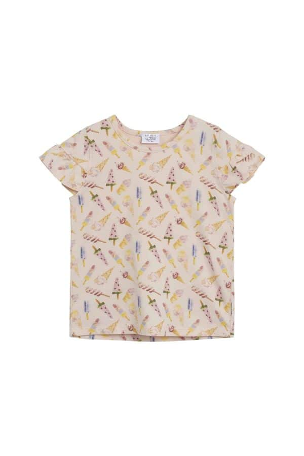 T-shirt Agines met ijsjes Hust and Claire