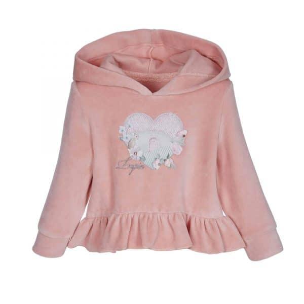 Setje met legging en roze trui Lapin House