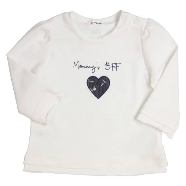 GYMP longsleeve 'mommy's BFF'