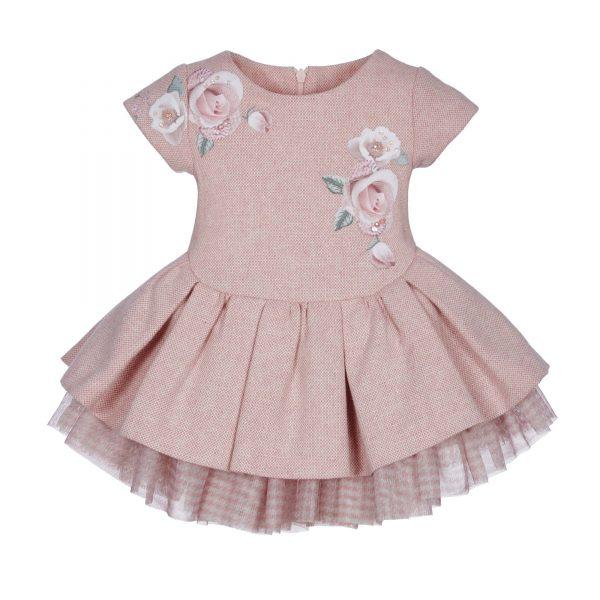 Lapin House roze jurk 'roses'