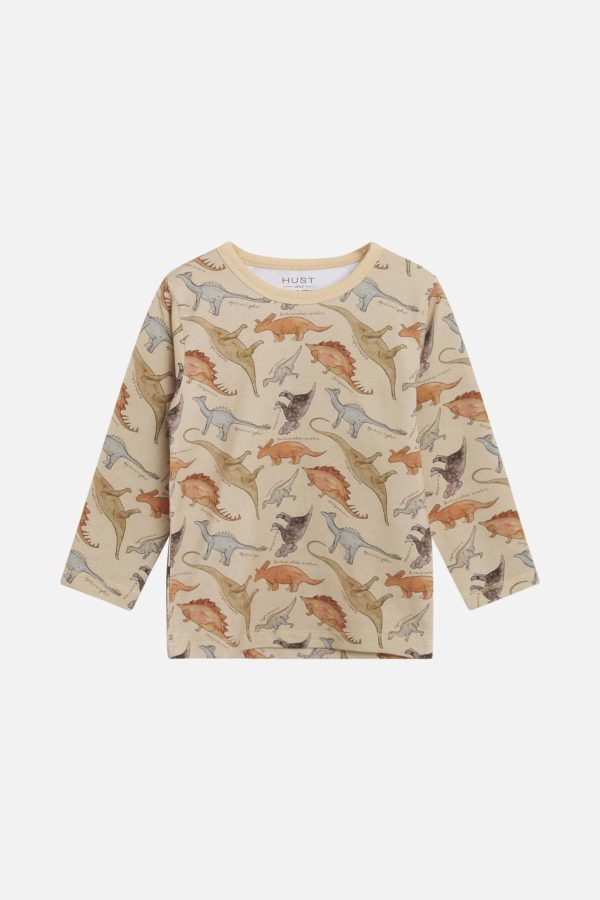 Hust and Claire dino longsleeve 'August'