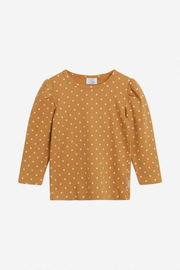 Hust and Claire kaneel basic longsleeve 'Aileen'