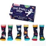 multipack sokken one small step oddsocks